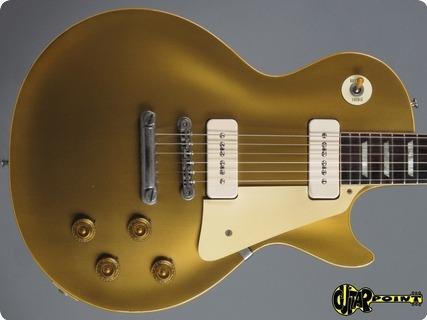 Gibson Les Paul Goldtop 1956 Allgold