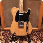 Fender Vintage 1977 Fender Telecaster Natural Maple Electric Guitar Case 8.6lbs