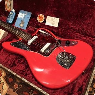 Fender Vintage 1962 Fender Jaguar Fiesta Red Museum Condition Guitar