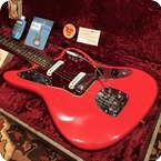 Fender Vintage 1962 Fender Jaguar Fiesta Red Museum Condition Guitar