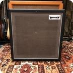 Matamp Vintage 1970s Matamp Orange 1x15 Guitar Cabinet Fane Crescendo