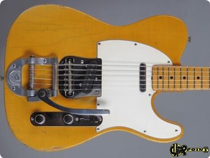 Fender Telecaster 1968 Blond / Maple Cap