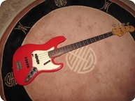Fender Jazz Bass refin 1964 Fiesta Red