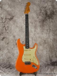 Fender Stratocaster 1964 Orange Refinished