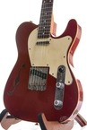Haar Traditional T Thinline Candy Apple Red Rosewood