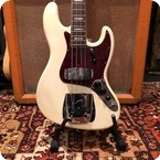 Fender Vintage 1966 Fender Jazz Bass Factory Custom Olympic White Guitar