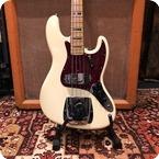 Fender Vintage 1972 Fender Jazz Bass USA Olympic White Maple Guitar