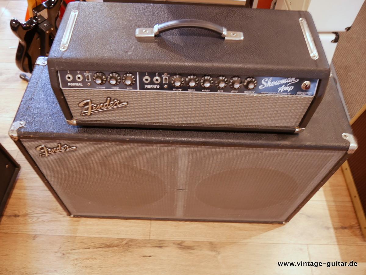 Fender Fender Showman Amp Cabinet 1965 Black Tolex Amp For Sale