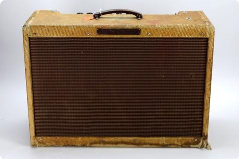 Fender Fender 1959 High Power Tweed Twin (pre Owned) Joe Satriani Private Collection 1959 Tweed