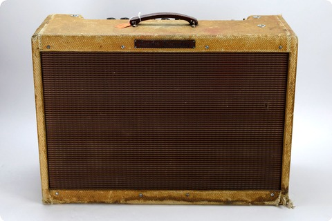 Fender Fender 1959 High Power Tweed Twin (pre Owned) Joe Satriani Private Collection 1959 Tweed