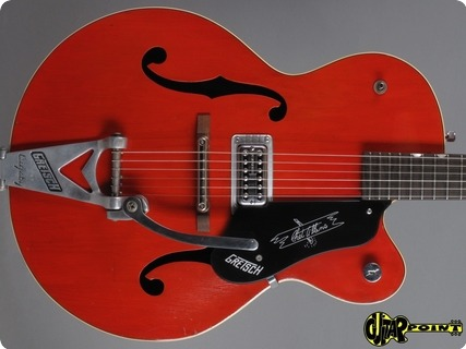 Gretsch 6119 Chet Atkins Tennessean 1959 Western Red