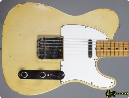 Fender Telecaster  1965 Blond   Maple Cap