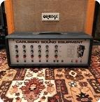 Carlsbro Vintage 1970s Carlsbro 60PA 60w Valve Guitar Amplifier Head