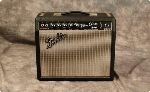 Fender Vibro Champ 1967 Black Tolex