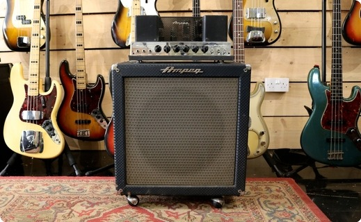 Ampeg B15 Nb 1962 Blue Checked Tolex