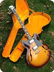 Gibson ES335 Block Neck 1962 Sunburst