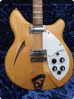Rickenbacker 360 12 1966 Mapleglo