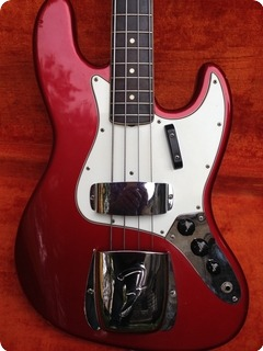 Fender Jazz Bass Custom Colour 1965 Candy Apple Red