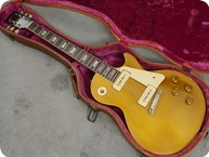 Gibson Les Paul Standard Goldtop 1955 Gold