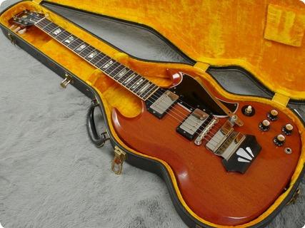 Gibson Les Paul Sg Standard 1962 Cherry Red