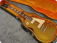 Gibson Les Paul Standard Goldtop 1968 Gold