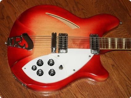 Rickenbacker 360 12 (rie0381)  1965 Fireglo