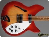 Rickenbacker 330 12 1980 Fireglo