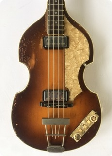 Hofner 500/1 Violin Beatles Bass 1964 Brown Sunburst