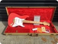 Fender-Custom Shop Hank Marvin Stratocaster Signed By Hank-1993-Fiesta Red