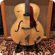 Hofner Vintage 1960 Hofner Senator Blonde Natural Electric Guitar Hard Case
