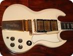Gibson SG Les Paul Custom GIE1053 1963 White