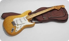 Greco Strat SE 500 Super Sounds 1977 Natural