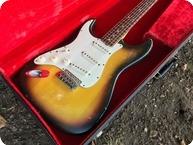 Fender Stratocaster Left Handed 1968 Sunburst