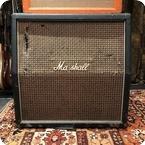 Marshall Vintage 1971 Marshall Large Check 4x12 Slant Guitar Cabinet T1221