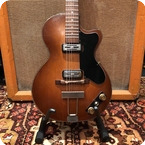 Hofner Vintage 1960 Hofner Club 50 Brunette Sunburst Electric Guitar OHSC