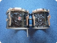 Premier Bongos 1960 Black Diamond Pearl