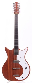 Electric 12 String Guitar Luthier Made 2000 Natural Magogany