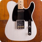 Fender Custom Shop-Telecaster-2018-White Blonde
