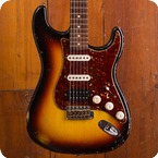 Fender Custom Shop Stratocaster 2009 Three Tone Sunburst