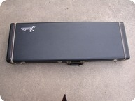Fender Stratocaster And Telecaster Case 1972 Black Orange