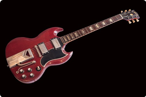 Gibson Les Paul Sg 1962 Cherry