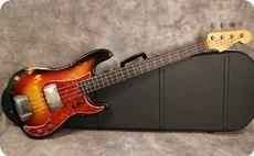 Fender Precision 1963 Sunburst Refinish