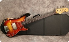 Fender Precision 1963 Sunburst Refinish