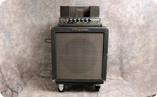Ampeg B15 NC 1963 Blue Checked Tolex