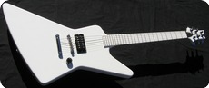 Paul Reed Smith Prs Explorer 1986 Pearl White