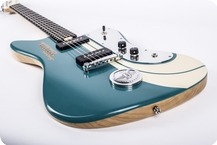 Tonfuchs Guitars Bulldog Motocult 210 2015 Golf Blue
