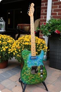 Fender Telecaster   (fee0994)  1968 Blue Floral
