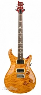 Prs Custom 24 10 Top Quilted Maple Cu24 Vintage Yellow 2007