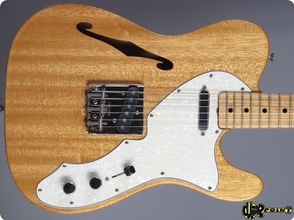 Fender Telecaster Thinline I 1969 Mahogany   Natural