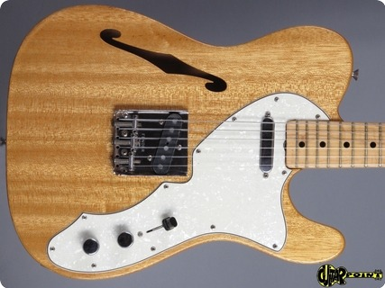Fender Telecaster Thinline I 1969 Mahogany   Natural